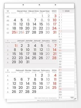 Driemaandskalender Compact Notes, 2022